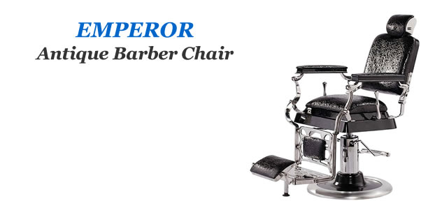 Emperor Antique Barbershop Chairs, AGS Barber Equipment Manufacturer, AGS Barber Furniture Supplier