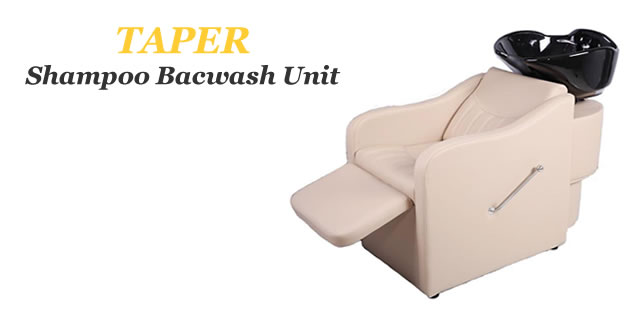 Taper Backwash Shampoo Bowls, Backwash Shampoo Systems, Shampoo Backwash Units