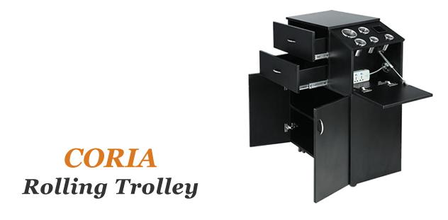 Coria Salon Carts, Salon Trolleys, Salon Equipment wholesale