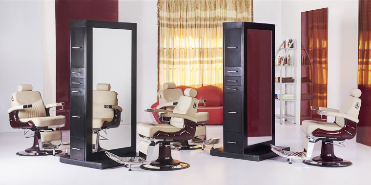 Salon Stations, Cabinets