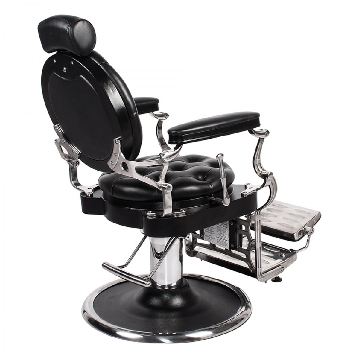 Justinian antique barber chair free shipping for A b salon equipment