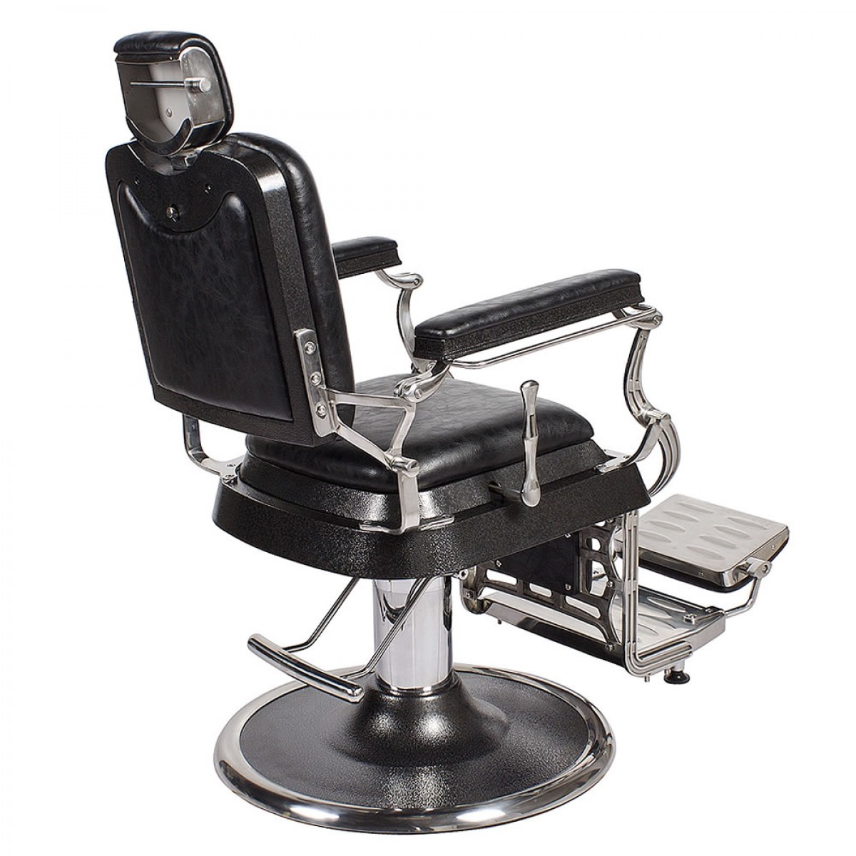 Quot Emperor Quot Barber Chair In Antique Black Barber Shop