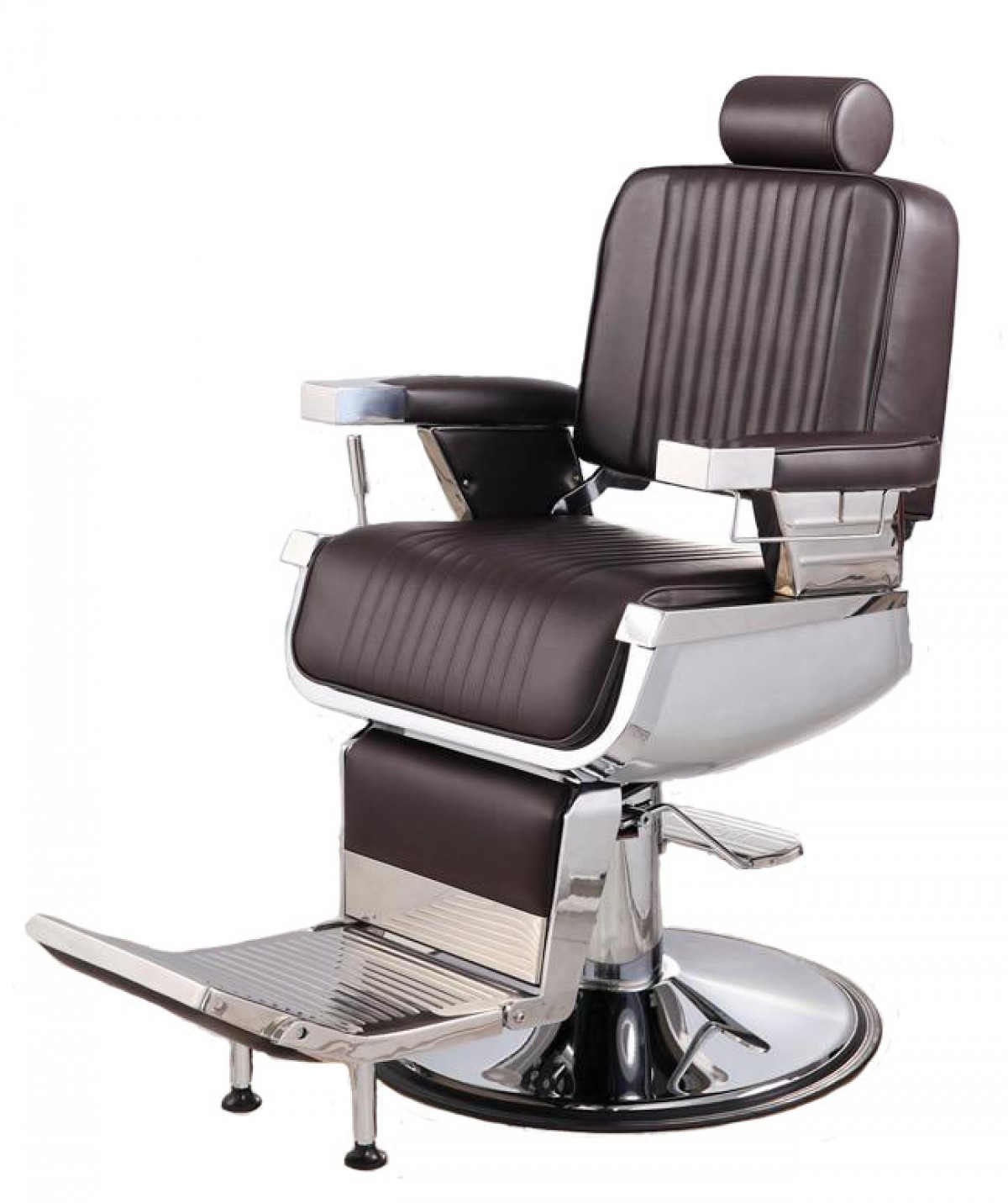 Quot Constantine Quot Barber Chair In Soft Chocolate Brown