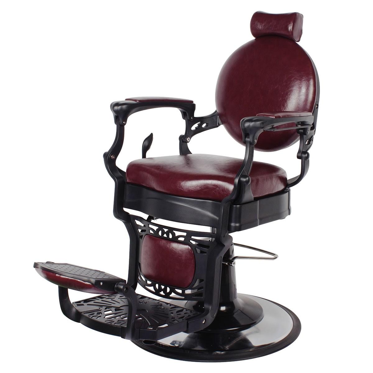 """""""ROMANOS"""" Vintage Barbershop Chair, Vintage Barber Chairs, Vintage Barber Shop Chair for Sale"""