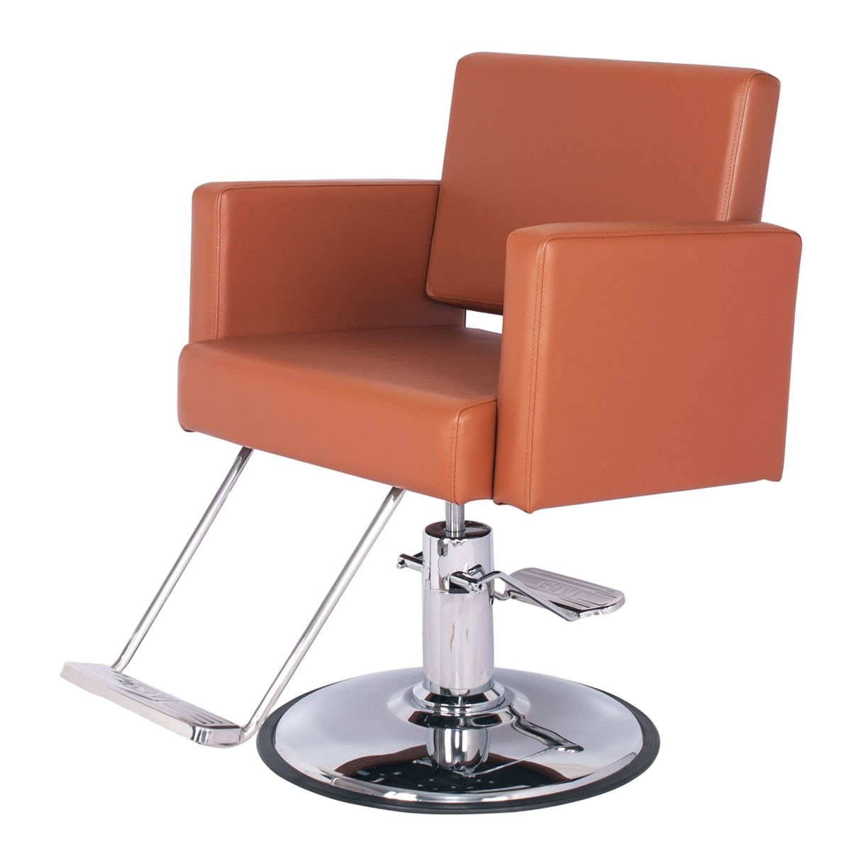 """""""GRAND CANON"""" Extra Large Salon Chair in Chestnut"""