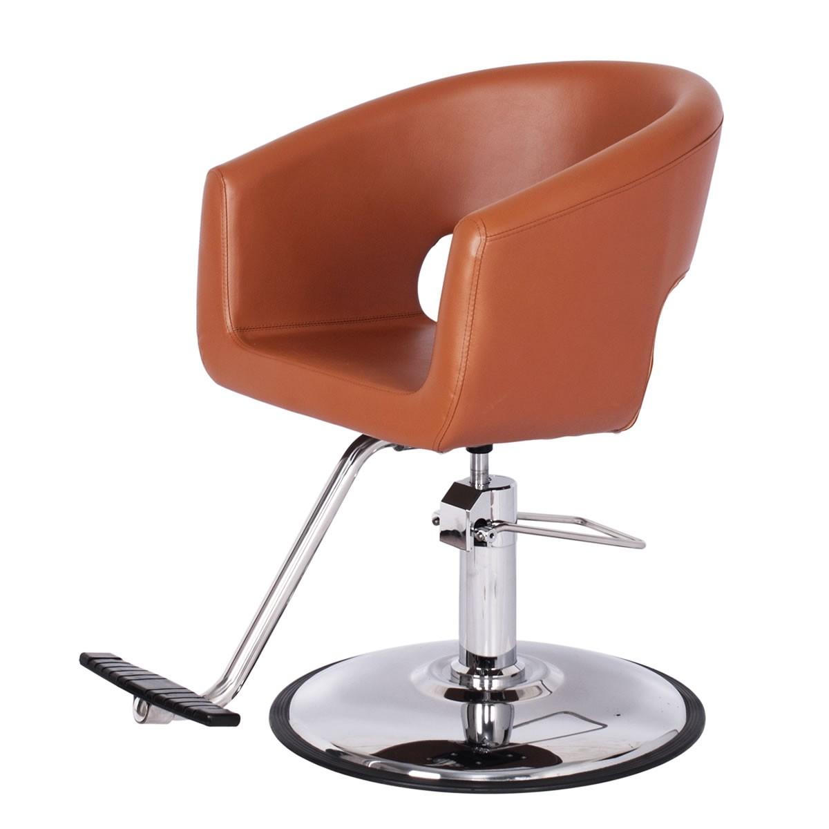"""MAGNUM"" Salon Styling Chair in Chestnut"