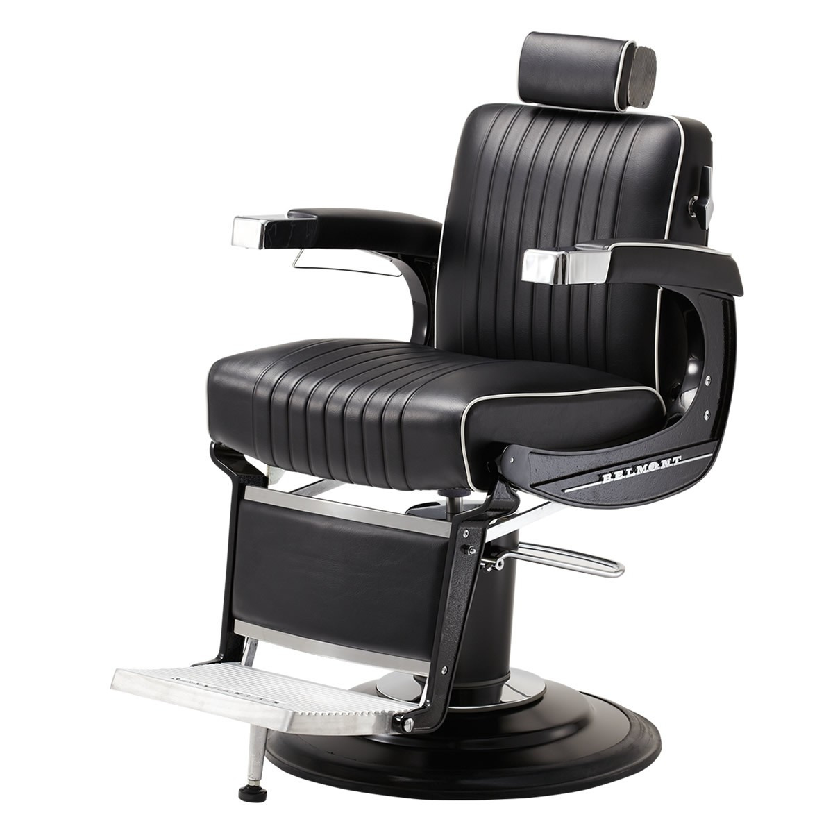 "TAKARA BELMONT B-225 ""ELITE BLACK"" Barber Chair - TAKARA Barber Chairs, BELMONT Barber Chairs"