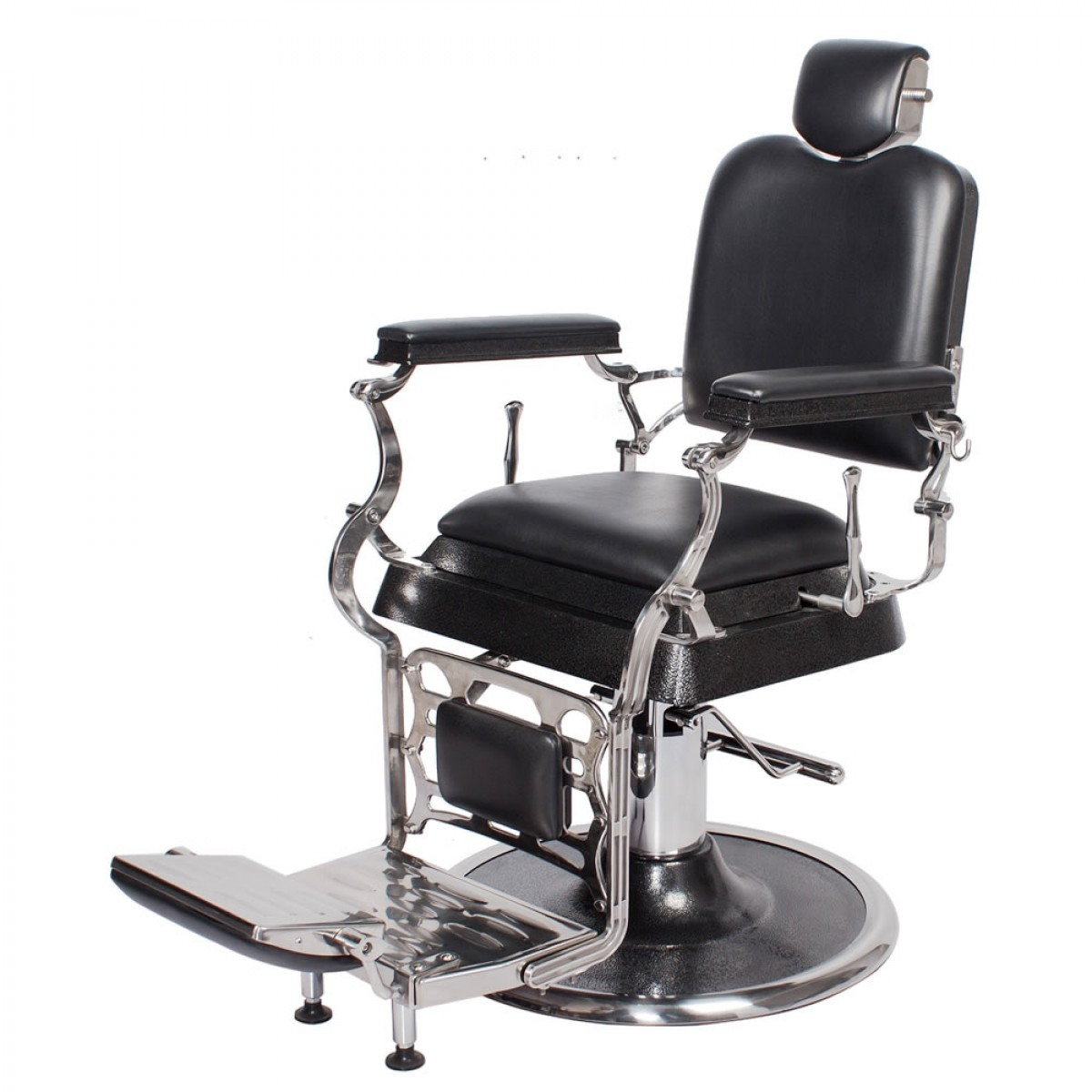 """EMPEROR"" Antique Barber Chair, barber shop equipment, barber shop furniture"