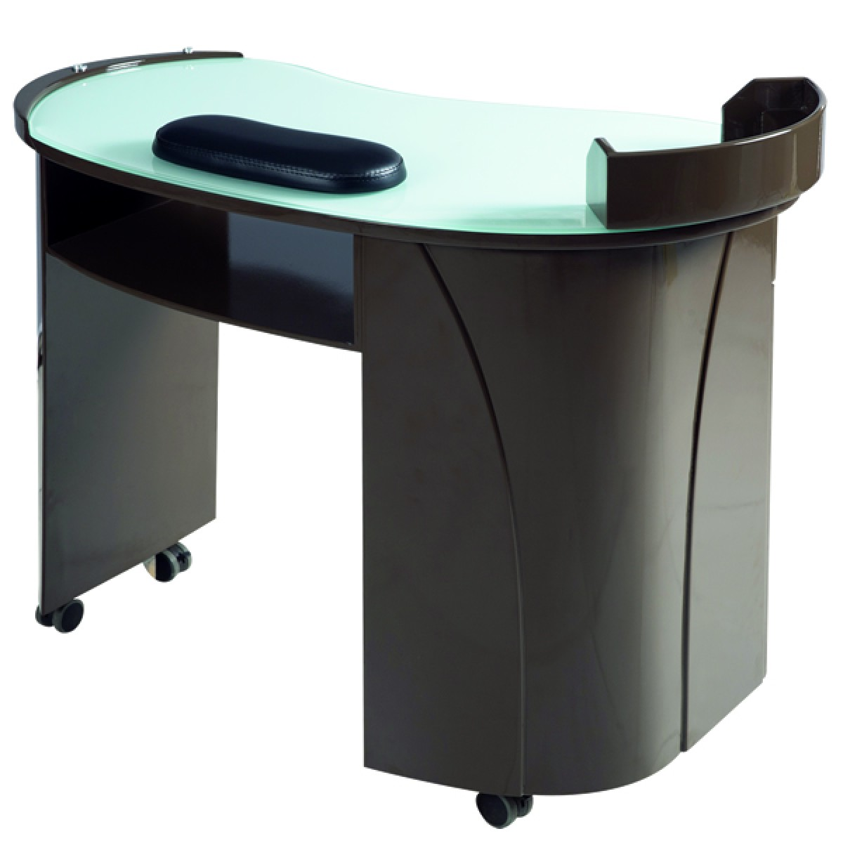 """ELLAND"" Manicure Table - Black Lacquer"
