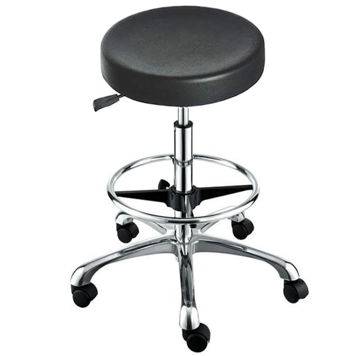 """ROCKY"" Stool with Footrest Ring (Free Shipping)"