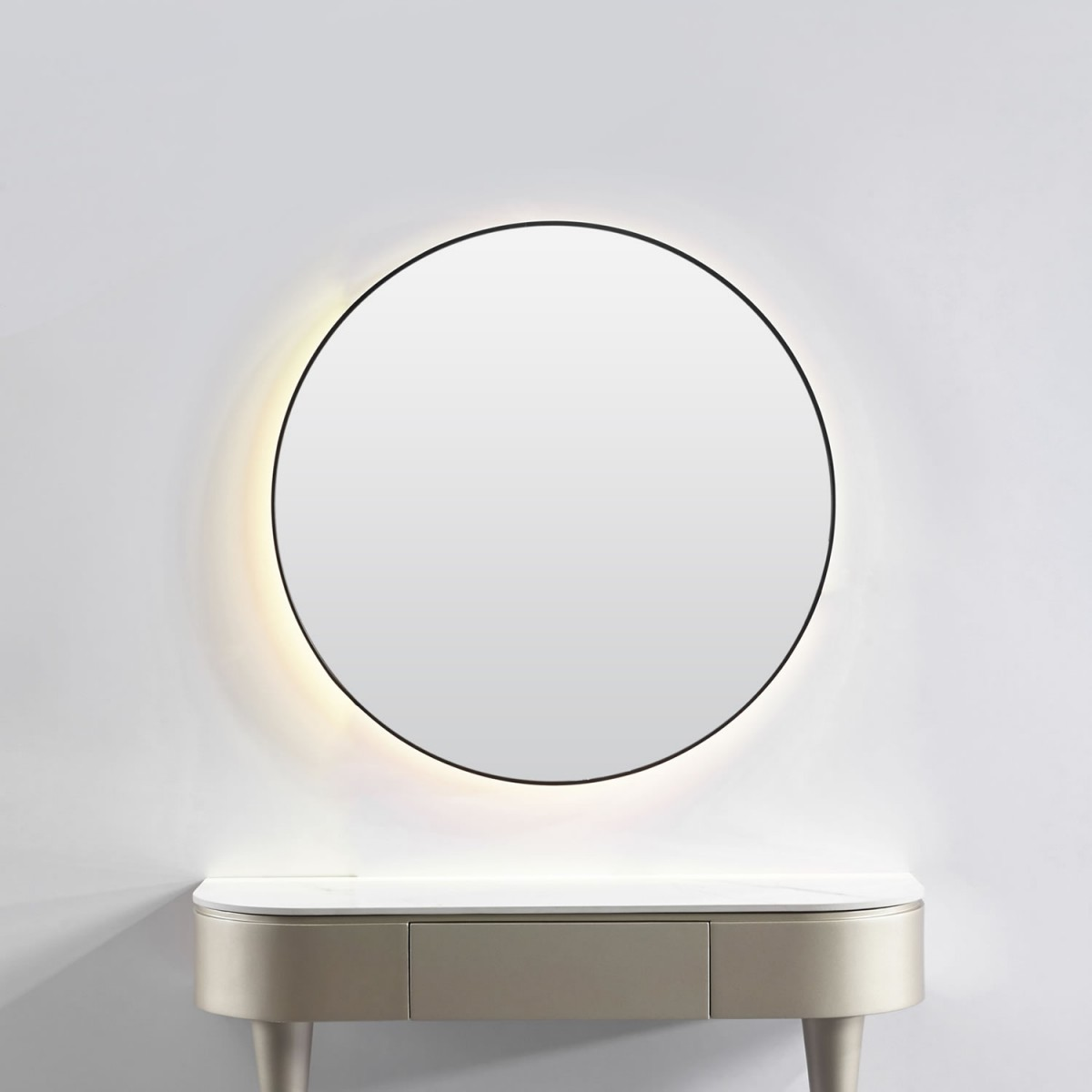 """FUJI"" Salon Mirror with LED Light"