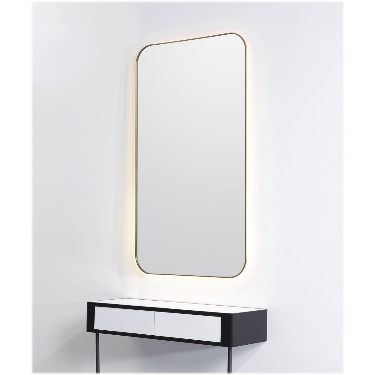 """ALPS"" Salon Mirror with LED Light"