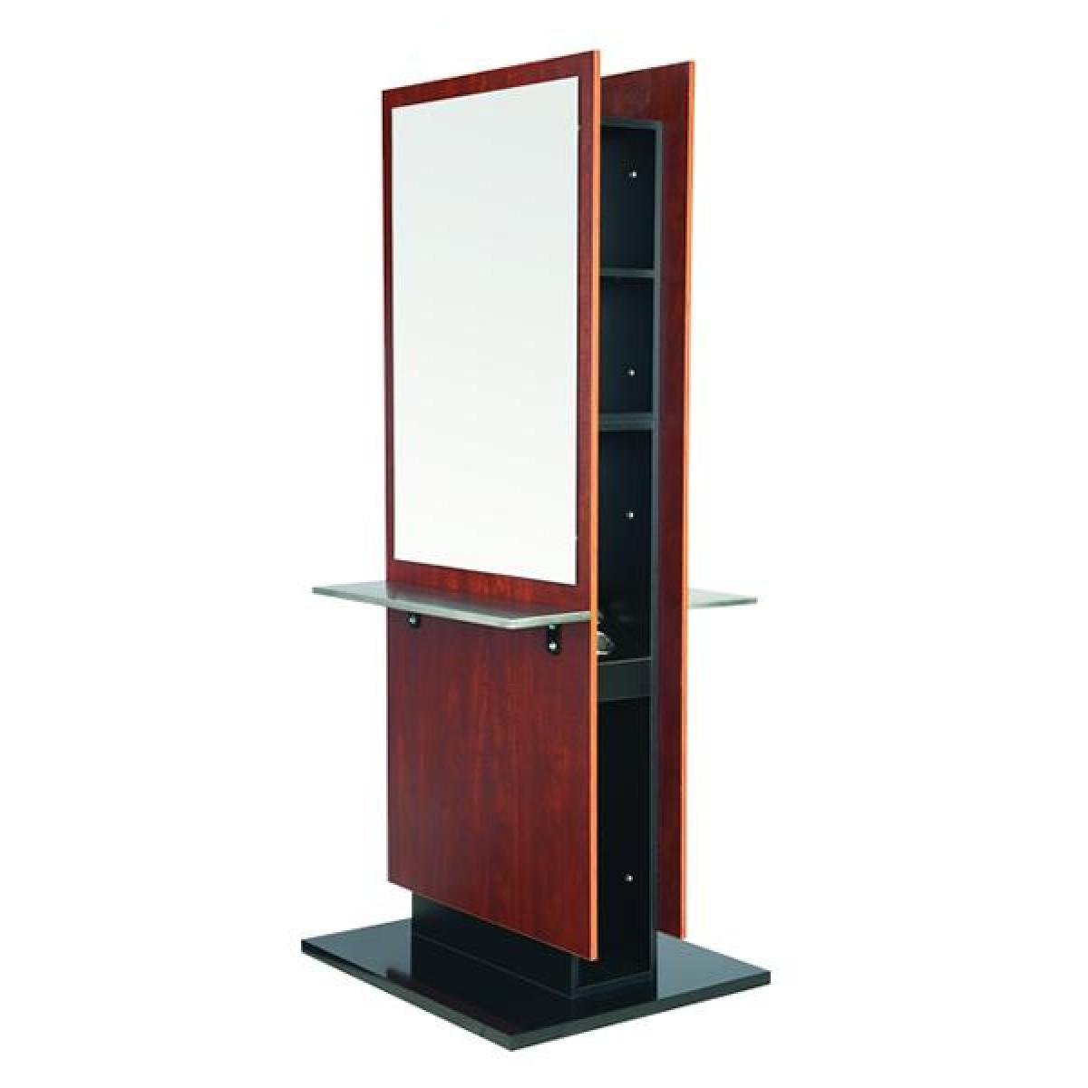 """SAYA"" Double Sided Styling Station, Salon Equipment in California, Salon Furniture in California"