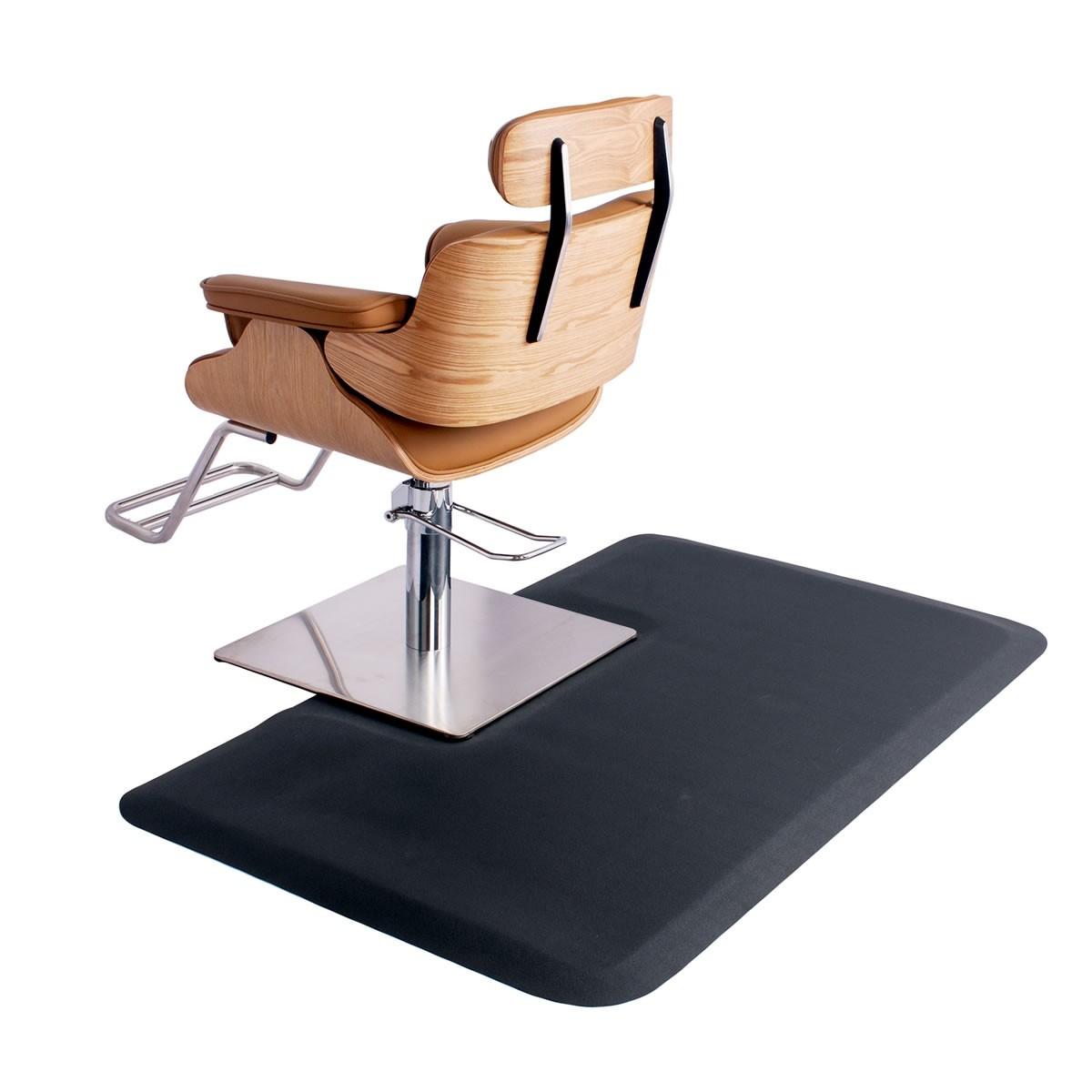 Square Salon Floor Mat for Square Base