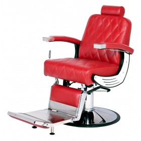 """BARON"" Barber Chair with Heavy Duty Pump (6 Colours, Free Shipping)"