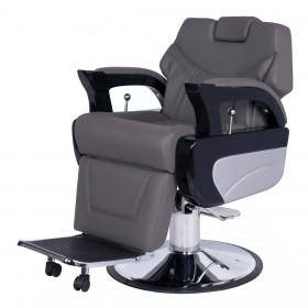 """AUGUSTO"" Barbershop Chair in Grey (Free Shipping)"