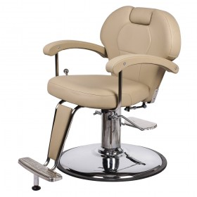 """KATHERINE"" Unisex Barber Chair in Khaki (Free Shipping)"