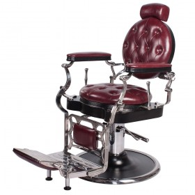"""""""JUSTINIAN"""" Antique Barber Chair (Free Shipping)"""