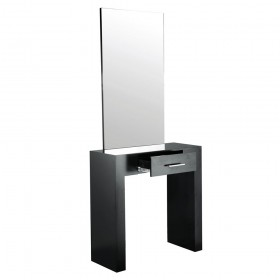 """AMBIENCE"" Single Sided Styling Station in Matte Black (Free Shipping)"