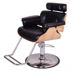 """COCOA"" Modern Salon Chair in Premium Black (Free Shipping)"