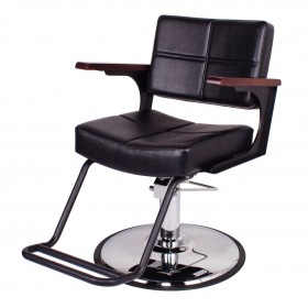 """TRIBECA"" Industrial Style Salon Chair (Free Shipping)"