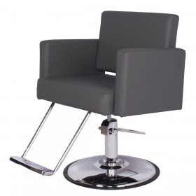 """GRAND CANON"" Extra Large Salon Chair in Grey (Free Shipping)"