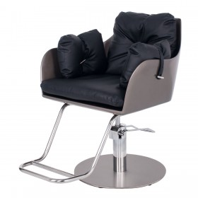 """TOKYO"" Luxury Salon Styling Chair in Soft Black (Free Shipping)"
