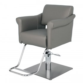 """BOSTON"" Salon Styling Chair in Soft Grey (Free Shipping)"