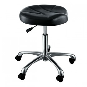 """ERATO"" Hair Salon Stool with Cast Alloy Base (Free Shipping)"