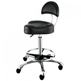 """AROHA"" Hair Salon Stool with Footrest Ring (Free Shipping)"