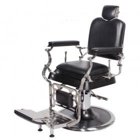 """EMPEROR"" Barber Chair in Premium Black (Free Shipping)"