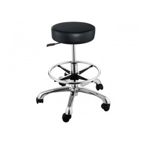 """FANCY"" Hair Salon Cutting Stool with Footrest Ring (Free Shipping)"