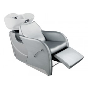 """ODESSA"" Shampoo Backwash Unit in Dark Silver (Free Shipping)"