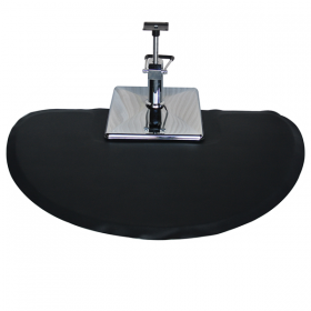 Round Salon Floor Mat for Square Base (SM-B5, Free Shipping)