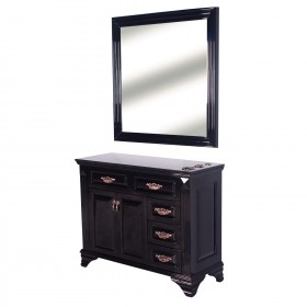 """FLORENCE"" Styling Station in Jet Black (Free Shipping)"