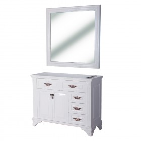 """FLORENCE"" Styling Station in Pure White (Free Shipping)"