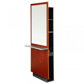 Ambience double sided styling station for A m salon equipment