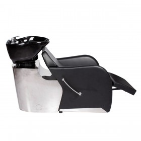 """SANTORINI"" Luxury Shampoo Backwash Unit With Stainless Base (Out of Stock)"