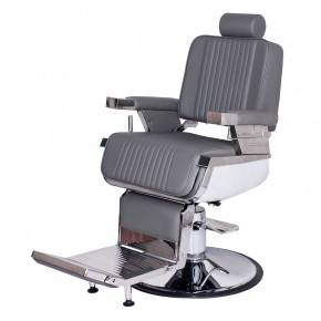 """CONSTANTINE"" Grey Barber Chair, Grey Barbershop Chairs, Best Selling Barber Chairs"