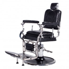 """EMPEROR"" Antique Barber Chair, antique barber chair, vintage barber chair"