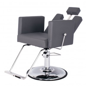 """CANON"" Reclining Salon Chair in Grey"