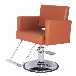 """GRAND CANON"" Extra Large Salon Chair in Chestnut"