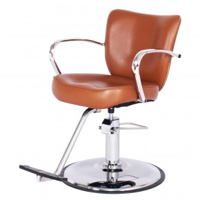"""VENUS"" Salon Styling Chair in Chestnut"