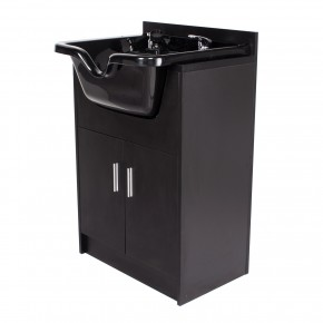 """Bahamas"" Shampoo Cabinet - Matte Black (Out of Stock)"