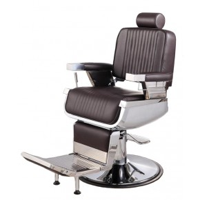 Brown barber shop chairs, barber equipment & barber stations