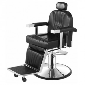 """CICERO"" Barber Chair with Heavy Duty Pump (Free Shipping)"