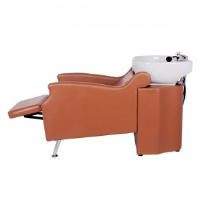"""MISSISSIPPI"" Shampoo Backwash Unit in Chestnut"