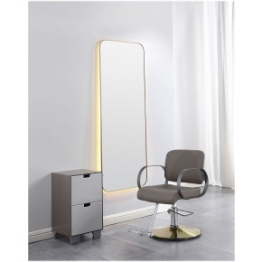 """HIMALAYAS"" Wall Mount Salon Mirror"