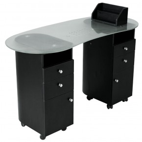 """DELOS"" Nail Table in Matte Black (Free Shipping)"
