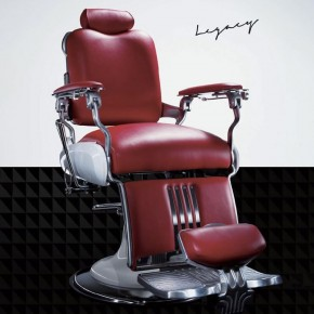 """LEGACY"" Barber Chair by TAKARA BELMONT, LEGACY Barbershop Chairs, Koken Barber Chairs"